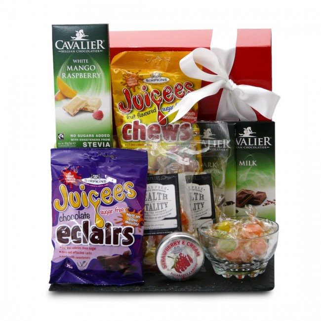 Diabetic hampers low sugar gifts delivered sugar free sweet selection box negle Choice Image