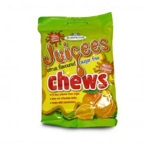 Simpkins Sugar free Real Citrus Chews 75g