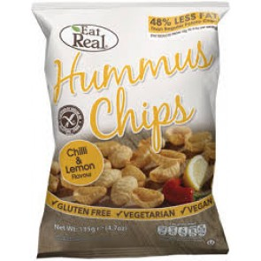 Cofresh Hummus Chips - Lemon & Chilli 40g