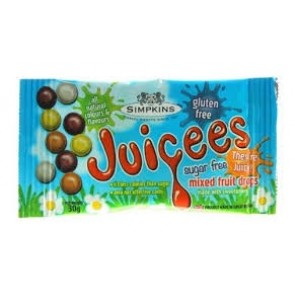 Juciees Sugar Free Mixed Fruit Drops 30g
