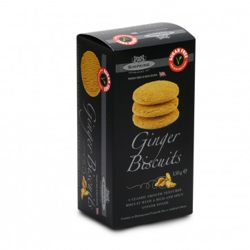 Ginger Biscuits - No added sugar 150g