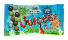 Juciees Sugar Free Mixed Fruit Drops 30g