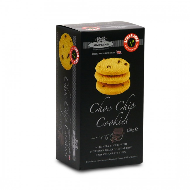 Chocolate Chip Cookies No Added Sugar 150g